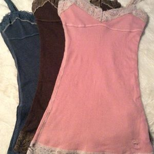 3 Abercrombie & Fitch Tank Tops